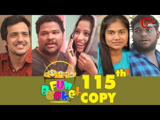 Fun Bucket | 115th Episode | Funny Videos | Telugu Comedy Web Series