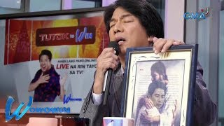 """Wowowin: Willie Revillame sings """"Panginoon"""" live on 'Tutok To Win'"""