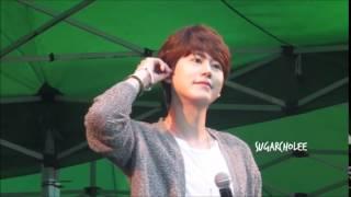150620 Kyuhyun [Hope Is A Dream That Doesn't Sleep] at Rainbow festival