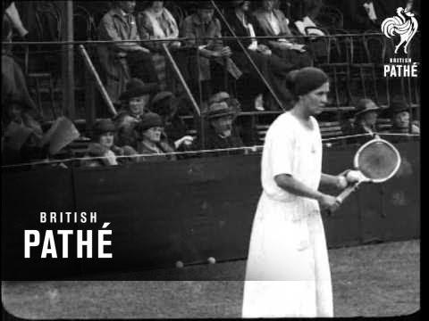 Women's Tennis (1910-1919)