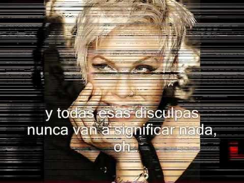 p!nk - Mean Subtitulada en español