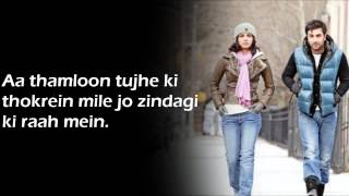 Tumse hi tumse || Anjaana Anjaani || Lyrics on screen