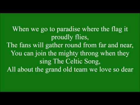 Hail Hail Celtic with lyrics