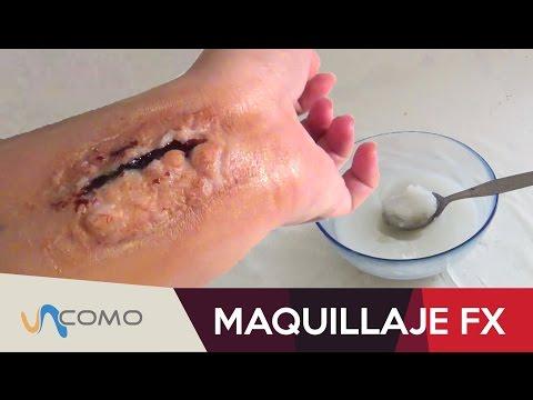Cómo hacer una herida falsa en 2 MINUTOS