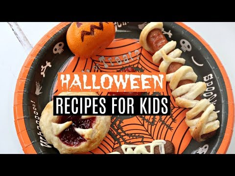 EASY HALLOWEEN RECIPES FOR KIDS 🎃 DIY HALLOWEEN TREATS & SIMPLE HALLOWEEN KIDS MEAL IDEAS