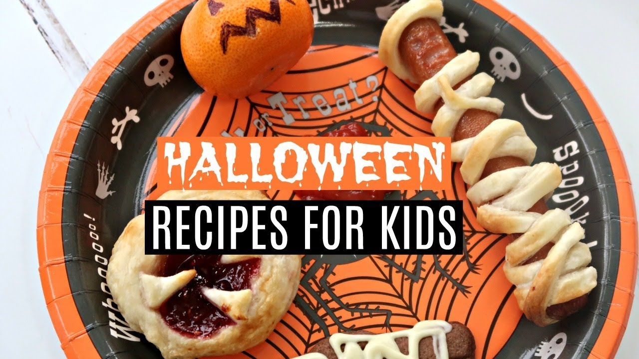 EASY HALLOWEEN RECIPES FOR KIDS 🎃 DIY HALLOWEEN TREATS \u0026 SIMPLE HALLOWEEN  KIDS MEAL IDEAS
