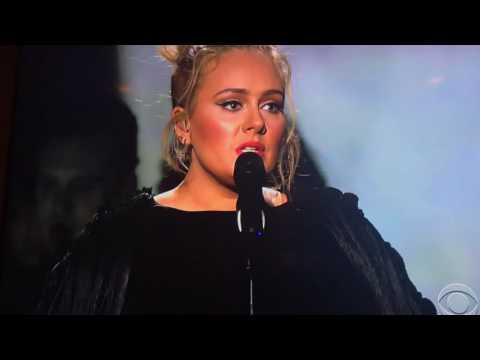 Adele ~ Grammys ~ George Michael Fast Love