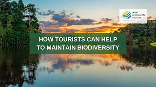 How tourists can help to maintain biodiversity