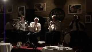 Lionel Ferbos at the Palm Court Jazz Cafe, New Orleans
