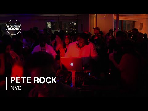 Pete Rock Boiler Room NYC DJ Set at W Hotel Times Square #WDND