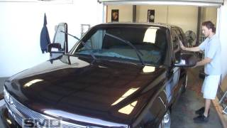Tinting the Windshield  - 2001 Tahoe 30% Front 5 % Rears
