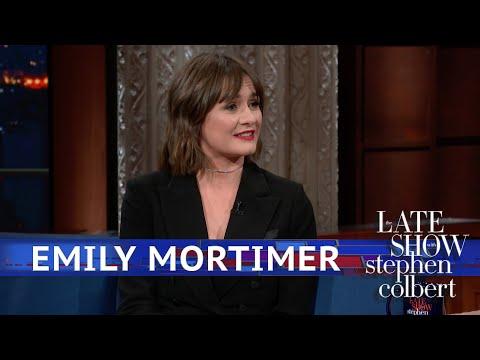 Emily Mortimer Got Rid Of A Boyfriends Mustache
