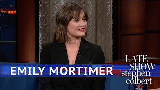 Emily Mortimer Got Rid Of A Boyfriend's Mustache