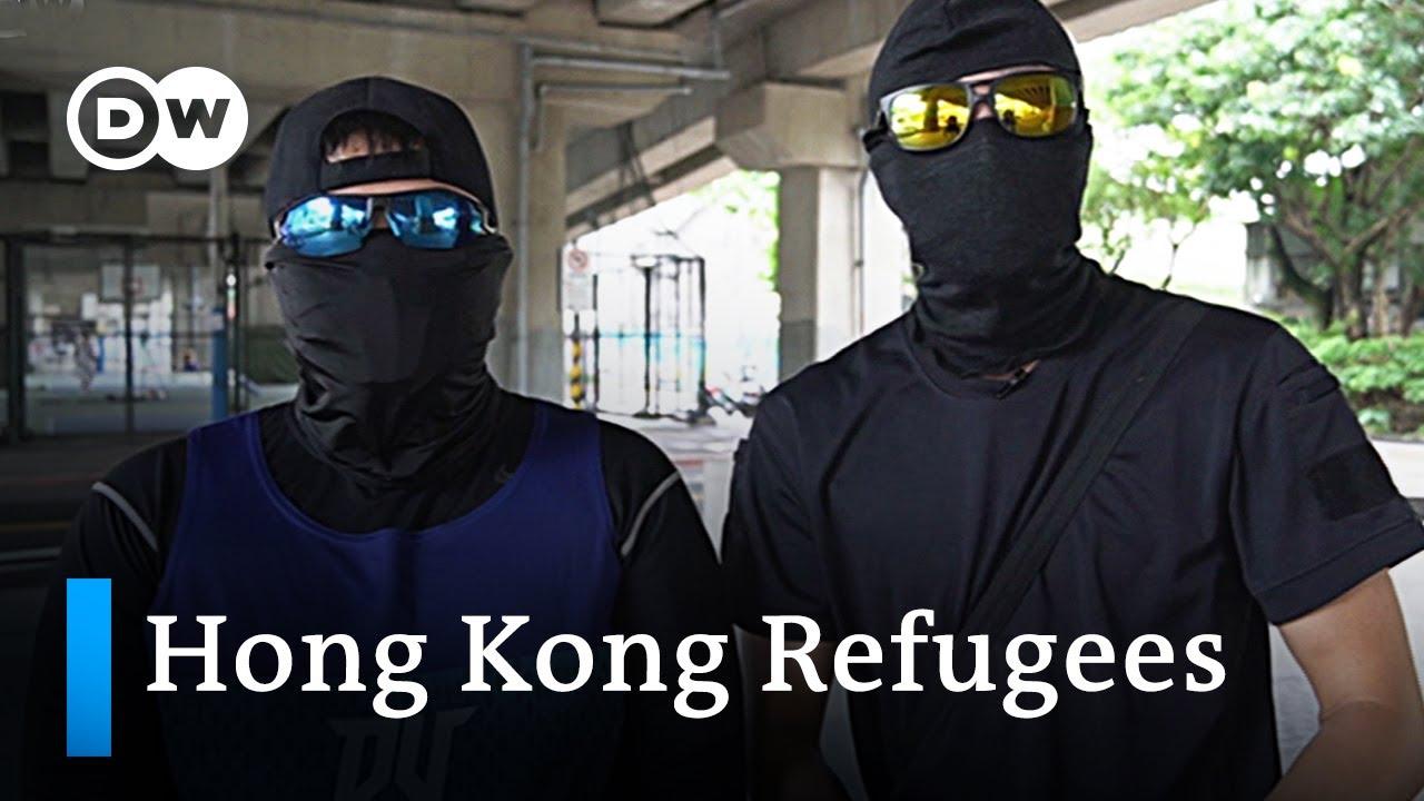 Hong Kong protesters seek refuge abroad | DW News