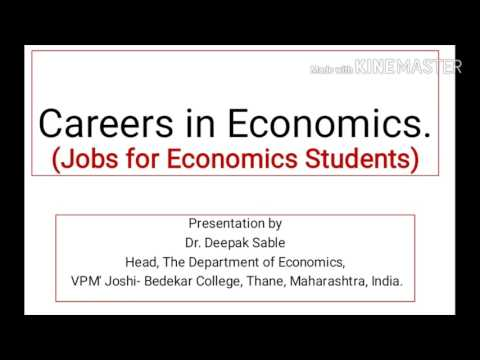Careers in Economics (Jobs Options for Economics Students)