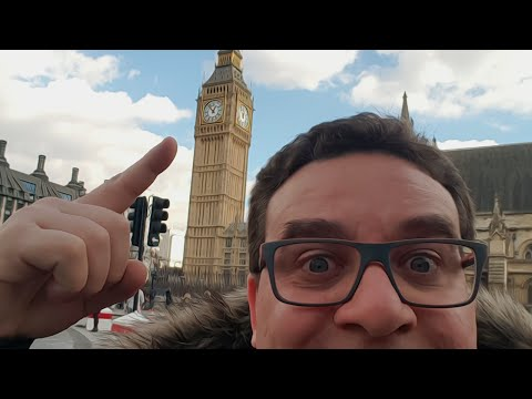 DAILY RIC #14 | 2º DIA EM LONDRES - NO MAN'S SKY - BIG BEN