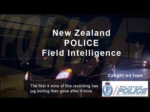 PHIL SALEH AND NEW ZEALAND POLICE FIELD INTELLIGENCE