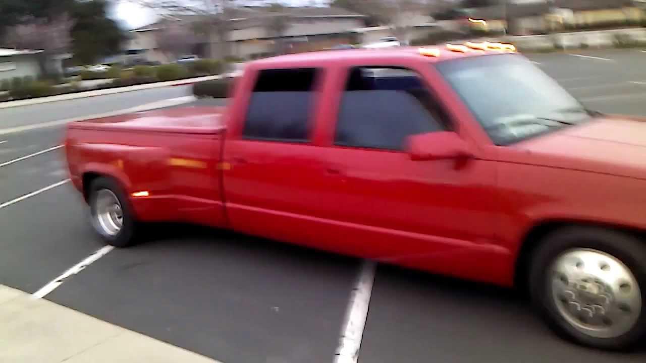 All Chevy 94 chevy 3500 : 94 dually crewcab VID_20120226_174558.3gp - YouTube