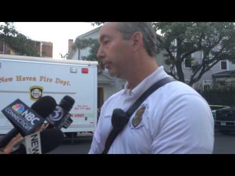 New Haven Fire Marshal Robert Doyle