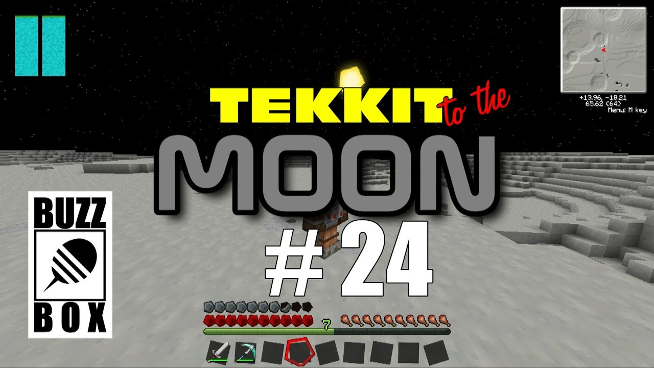 Tekkit to the MOON 24 Pulverizer UnLinked Link Book