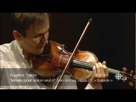 "Nikita Boriso-Glebsky / Ysaye /  Sonata №3 ""Ballade"""