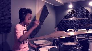 Bruno Mars Finesse (Remix) [Feat. Cardi B] Drum Cover By RJ Williams