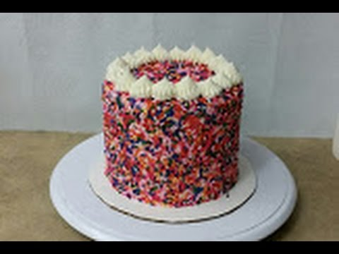 Funfetti Sprinkles Cake Youtube