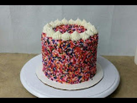 Funfetti Sprinkles Cake Youtube