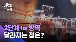 사우나·파티룸 등 금지…'2단계+α 방역' 달라지는 점은? / JTBC 뉴스룸