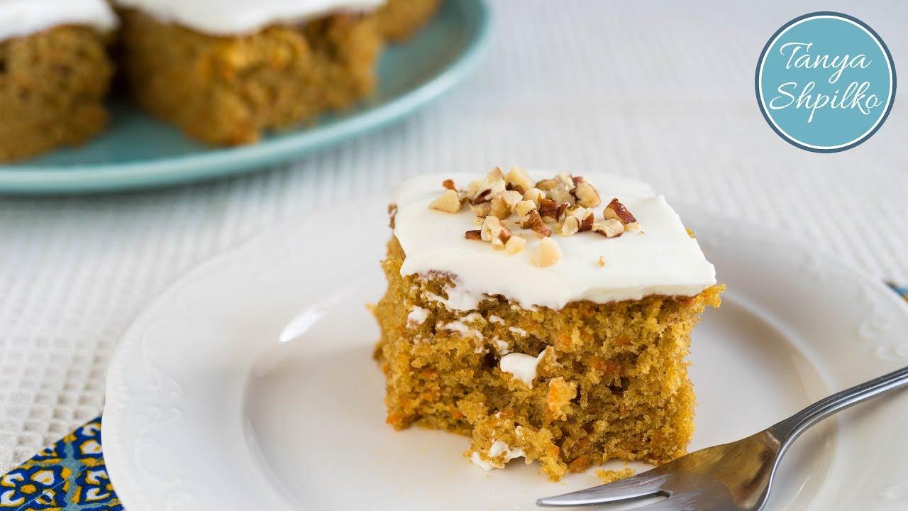Очень вкусный морковный пирог рецепт 3
