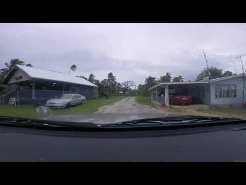 Hikutavake village Niue Island