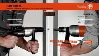 FEIN KBH 25: La técnica de perforación rápida y flexible.