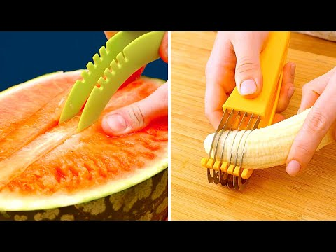 35 Kitchen Gadgets to Speed Up Your Cooking Routine || 5-Minute Recipes to Become a Chef!
