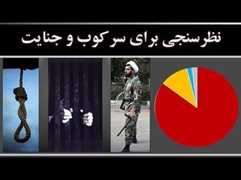 نظرسنجی برای سرکوب و جنایت