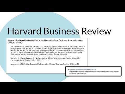 Find Articles by Title - Harvard Business Review - Research