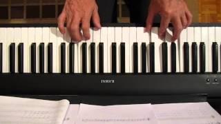 Klavir, Kad bi ove ruze male, dvije ruke, akordi 01