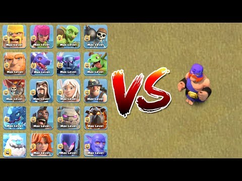 ALL TROOPS VS EL PRIMO | WHO WILL WIN ?? | CLASH OF CLANS |