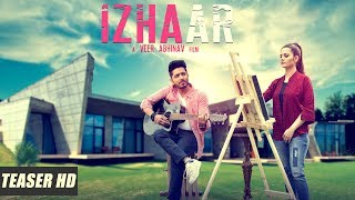 Izhaar - AR Thakur | Tanvi Nagi | Teaser | Latest Punjabi Songs 2018 | Encore records