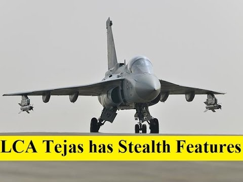 The 83 New LCA Tejas has Stealth Features due to its Small Size and Composite Material