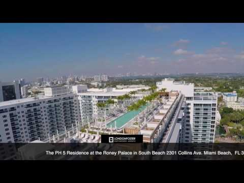 London Foster Realty - RONEY PALACE PH5 2301 COLLINS AVE UNIT#PH5 MIAMI BEACH, FL 33139