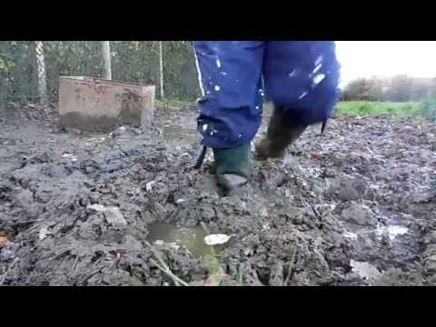 mud fun quarry trackies mudding wellies