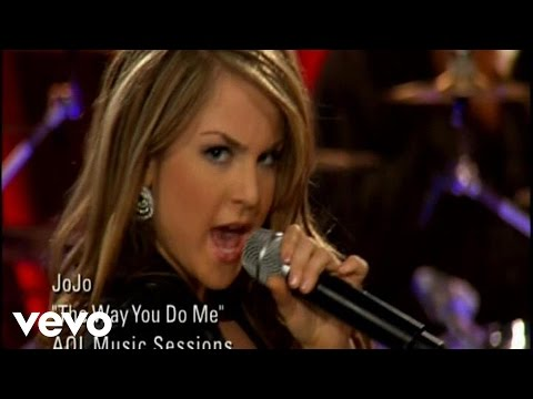 JoJo - The Way You Do Me (AOL Sessions)