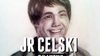 Drawing: JR Celski (US Olympic Speed Skater)