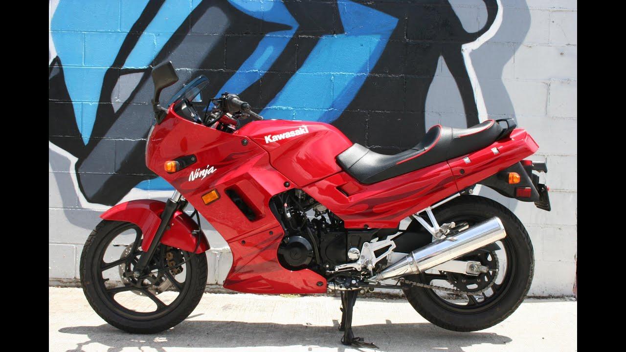 2006 Kawasaki Ninja 250 Motorcycle For Sale - YouTube