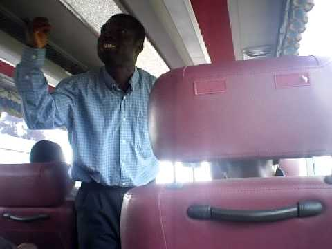 FUNNY Ghanaian Pastor Preaching on Kumasi - Accra VIP Bus.  Watch Part 2 of Evangelist Oduro