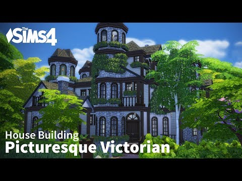 The Sims 4 House Building - Picturesque Victorian