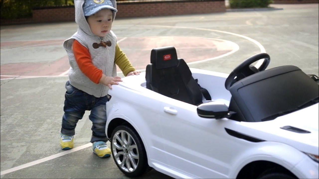 ???? Range Rover Evoque Toy For Kids Youtube