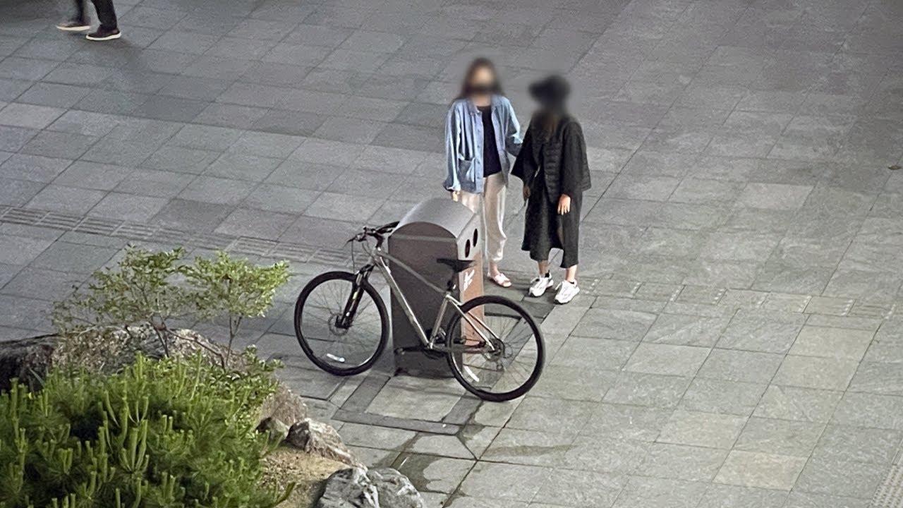 한국인들은 이 자전거를 훔쳐갈까? | 사회 실험