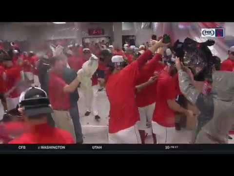 Cleveland Indians celebrate third straight American League Central Division  championship