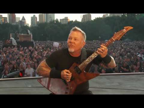 Metallica  Enter Sandman Live   Global Citizen   New York, NY   2016